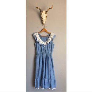 Vintage Flowy Dress